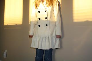 fun arrivals: a new coat!