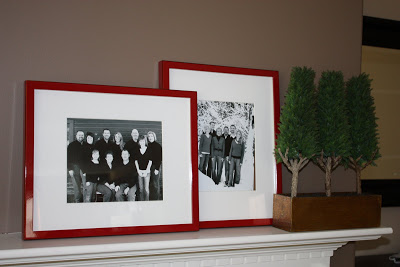 Living Room Updates - picture frames