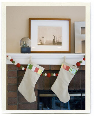 I am going to make Stockings and Gift Tags this year! I love these stockings so much!