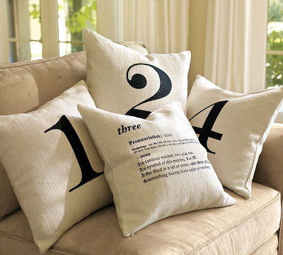 number pillows