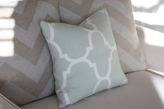 riad pillow no. 1 of 5,000 and my {semi}-deadly virus