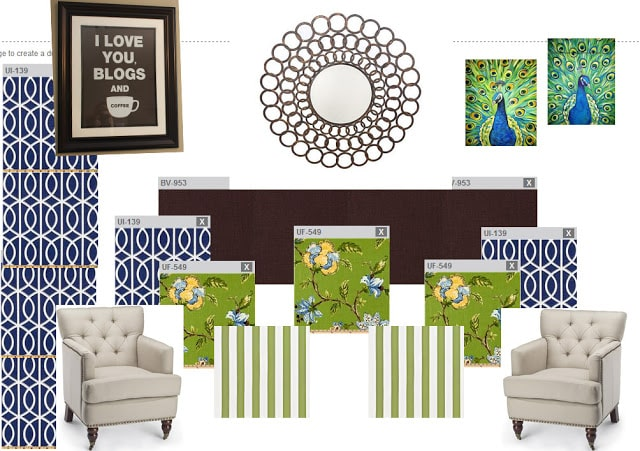 bonus room design board