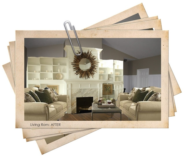 living room {photoshop miracle}