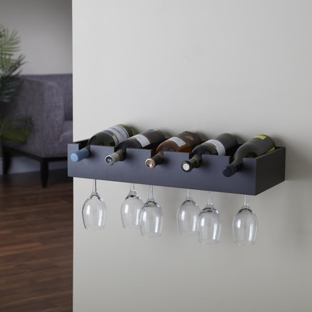 Here is another Sears wine rack in black.