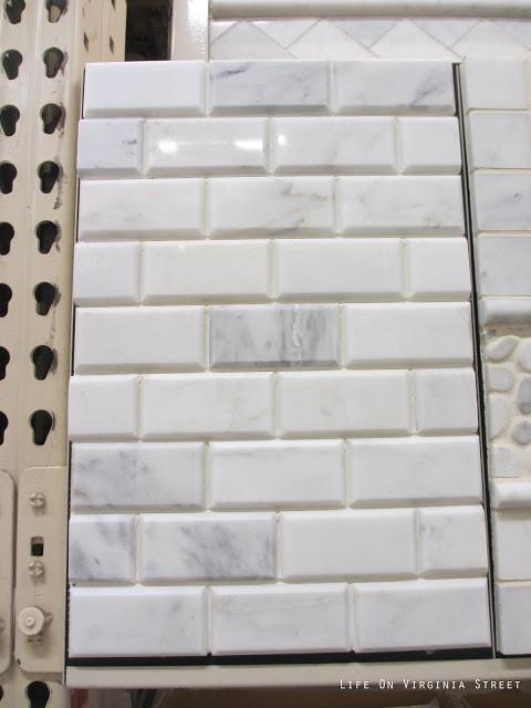 Grecian White Marble Subway Tile