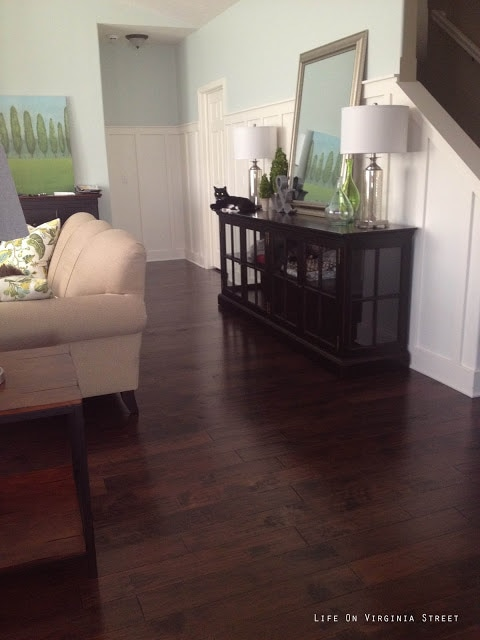 Hardwood Floors Process