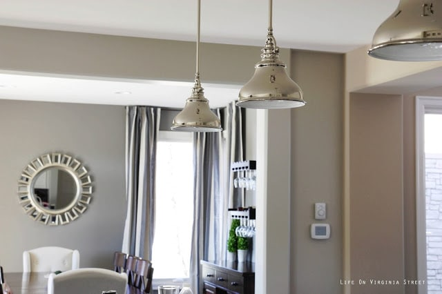 Behr Castle Path and Restoration Hardware Slate paint