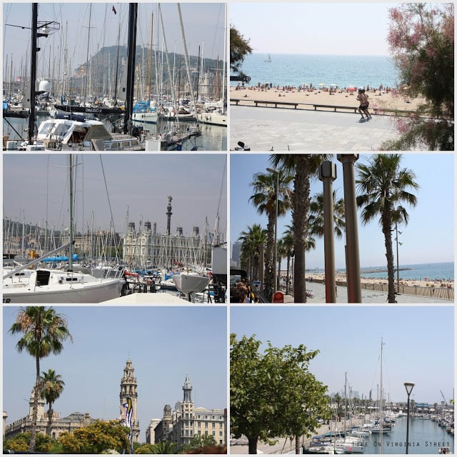 Barcelona, Spain beaches by bus tour