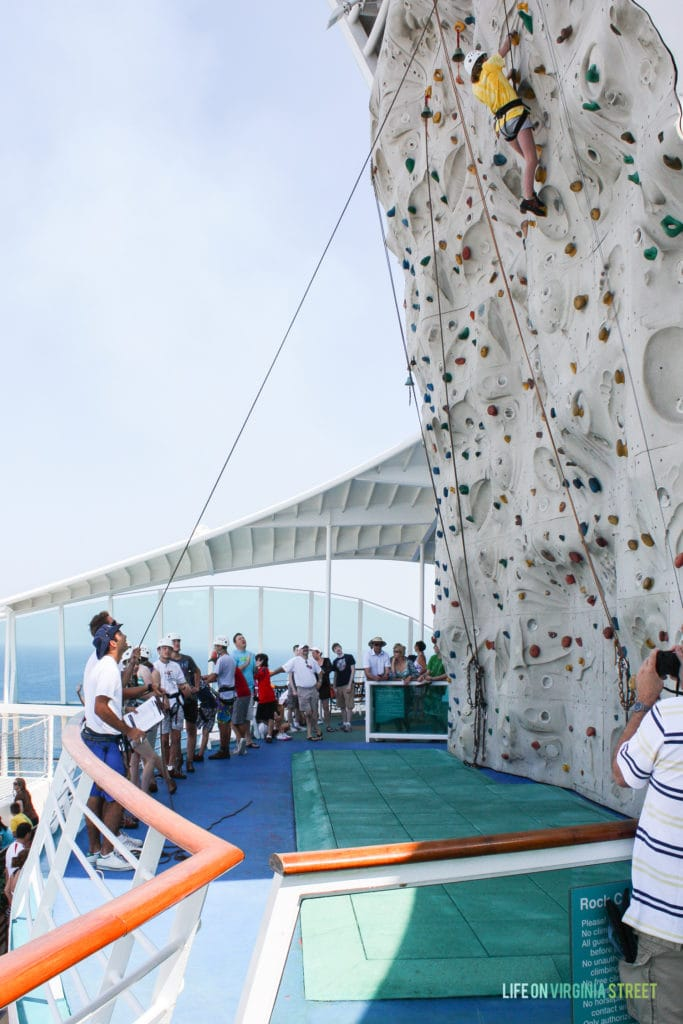 Mediterranean cruise day at sea activities and details