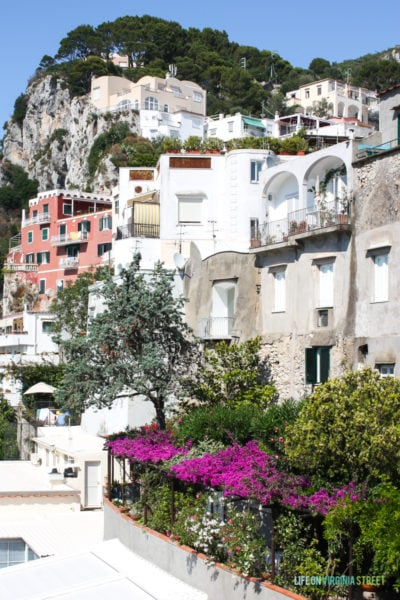 Travel: Pompeii, Sorrento, and Capri, Italy