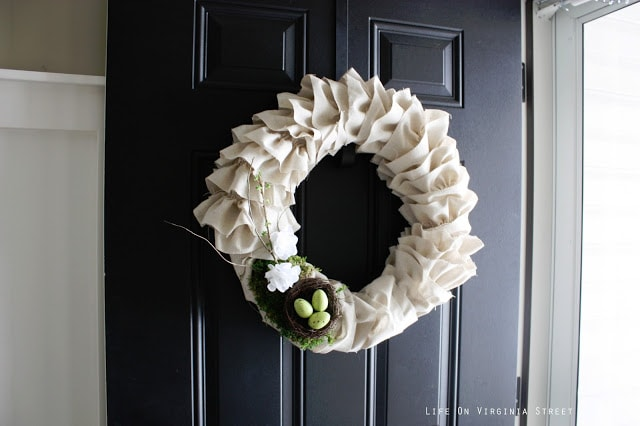 Spring Wreath Feature