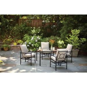 Patio Furniture Plants Lanterns And The Courtyard Life On - Classic patio furniture