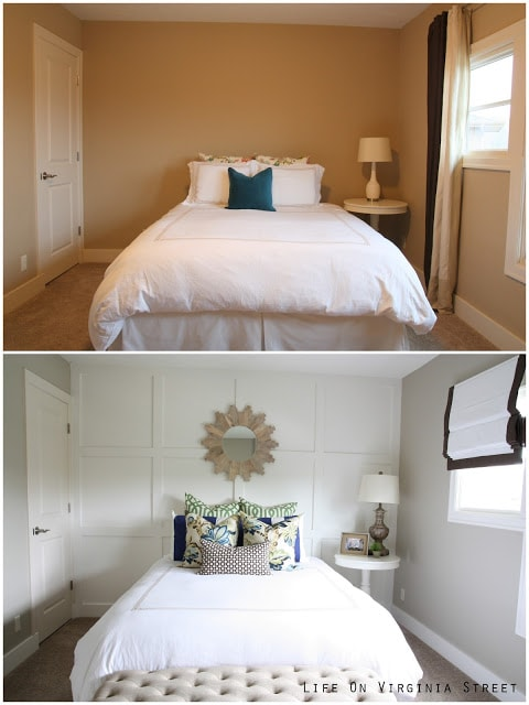 Guest Bedroom Before & After