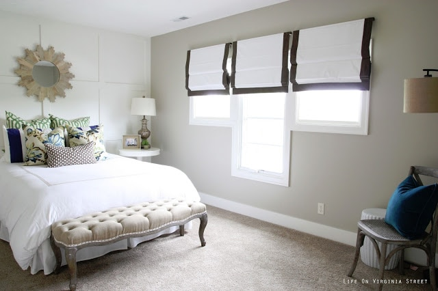 Queen Guest Bedroom Reveal