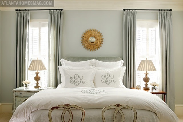 Light blue and gray color schemes inspiration for our for Ann wolf interior decoration