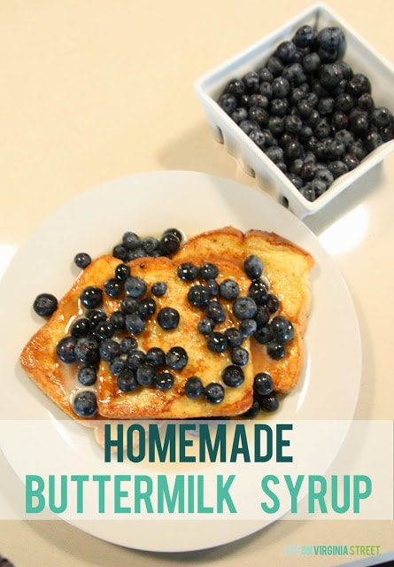 The Best Syrup Ever – Homemade Buttermilk Syrup