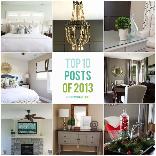 Top 10 Posts of 2013 - Life On Virginia Street
