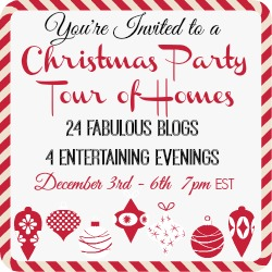 Christmas Party Tour of Homes Thumbnail Graphic
