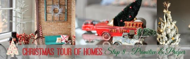 Christmas tour Of Homes graphic.