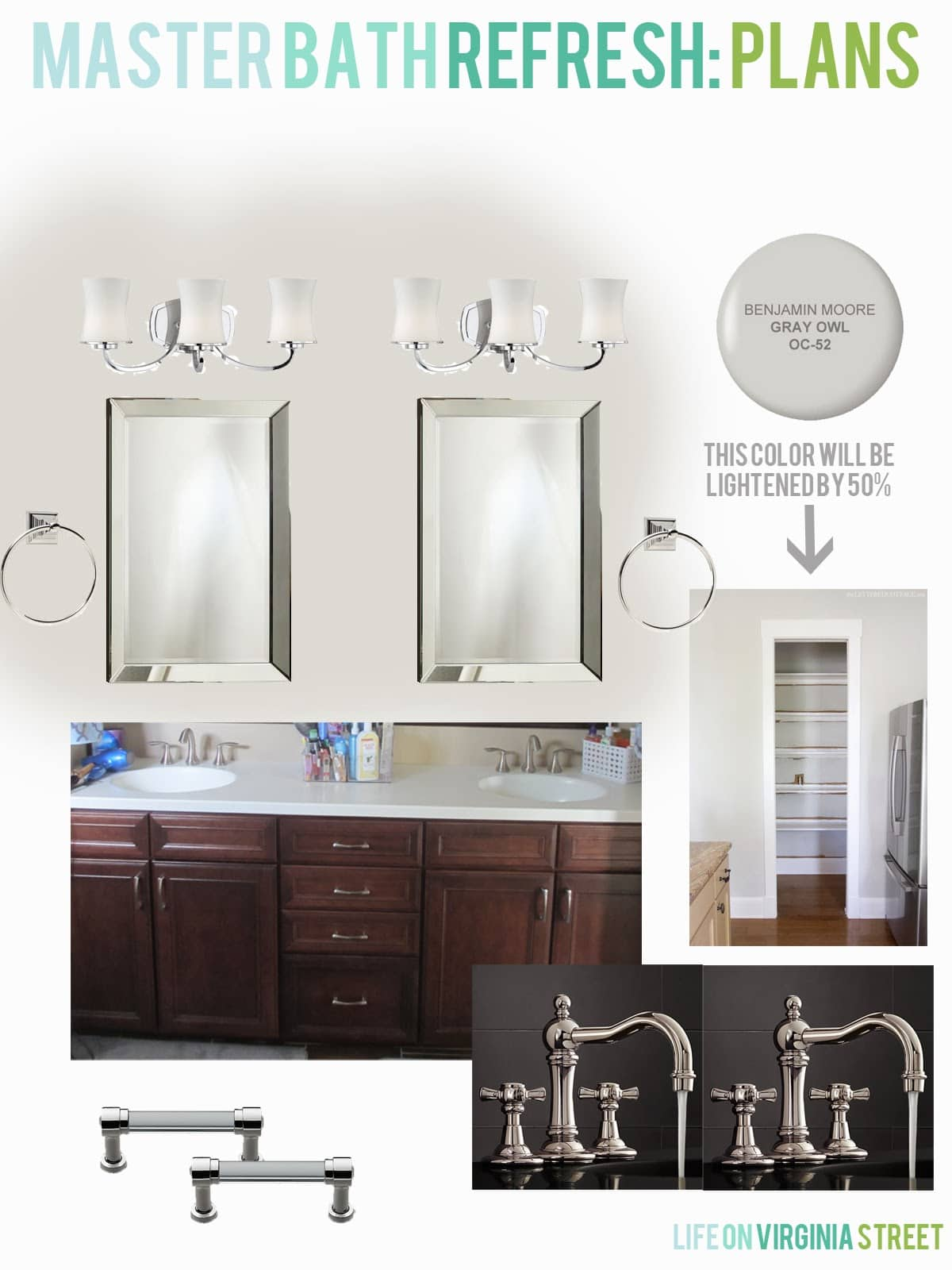 Master Bathroom Design Checklist | Life On Virginia Street