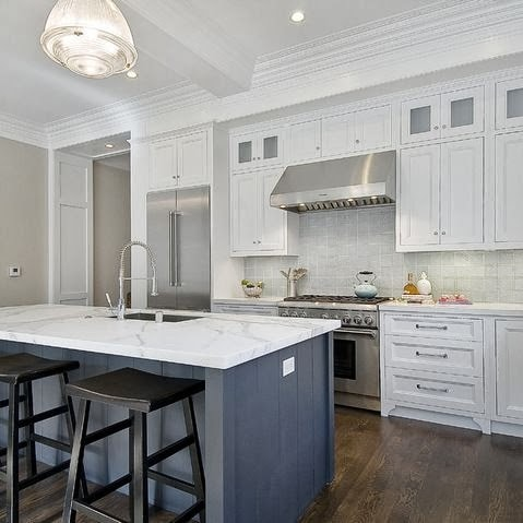 Alternatives to Carrara Marble Tiles| Life On Virginia Street on montgomery kitchens, royal palace kitchens, atlantic kitchens,