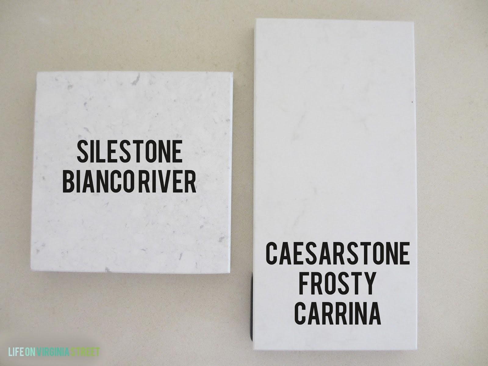 Alternatives To Carrara Marble Tiles Life On Virginia Street