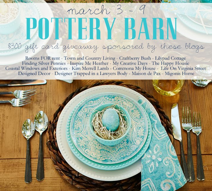 Life On Virginia Street: Pottery Barn Gift Card Giveaway And Some Fun Finds