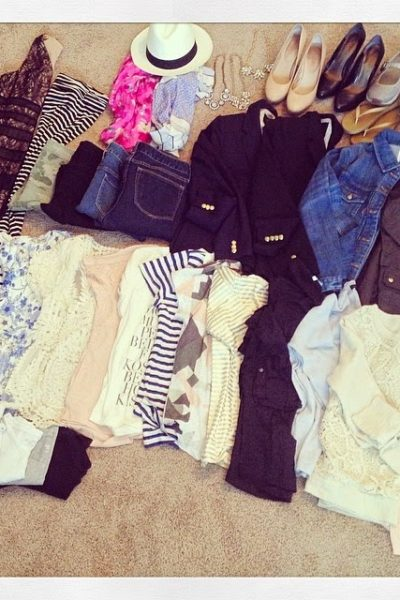 What's In My Suitcase for Europe