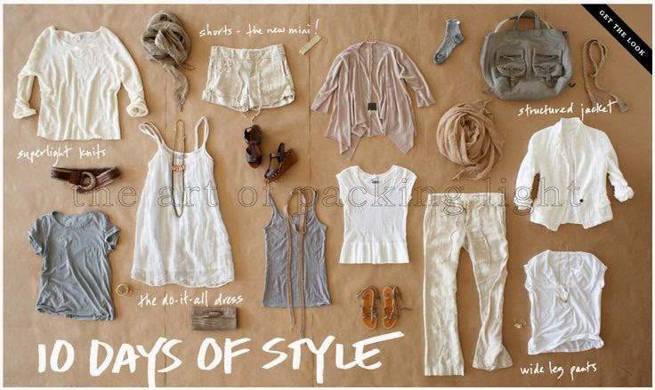 10 Days of Style - How to Pack Light