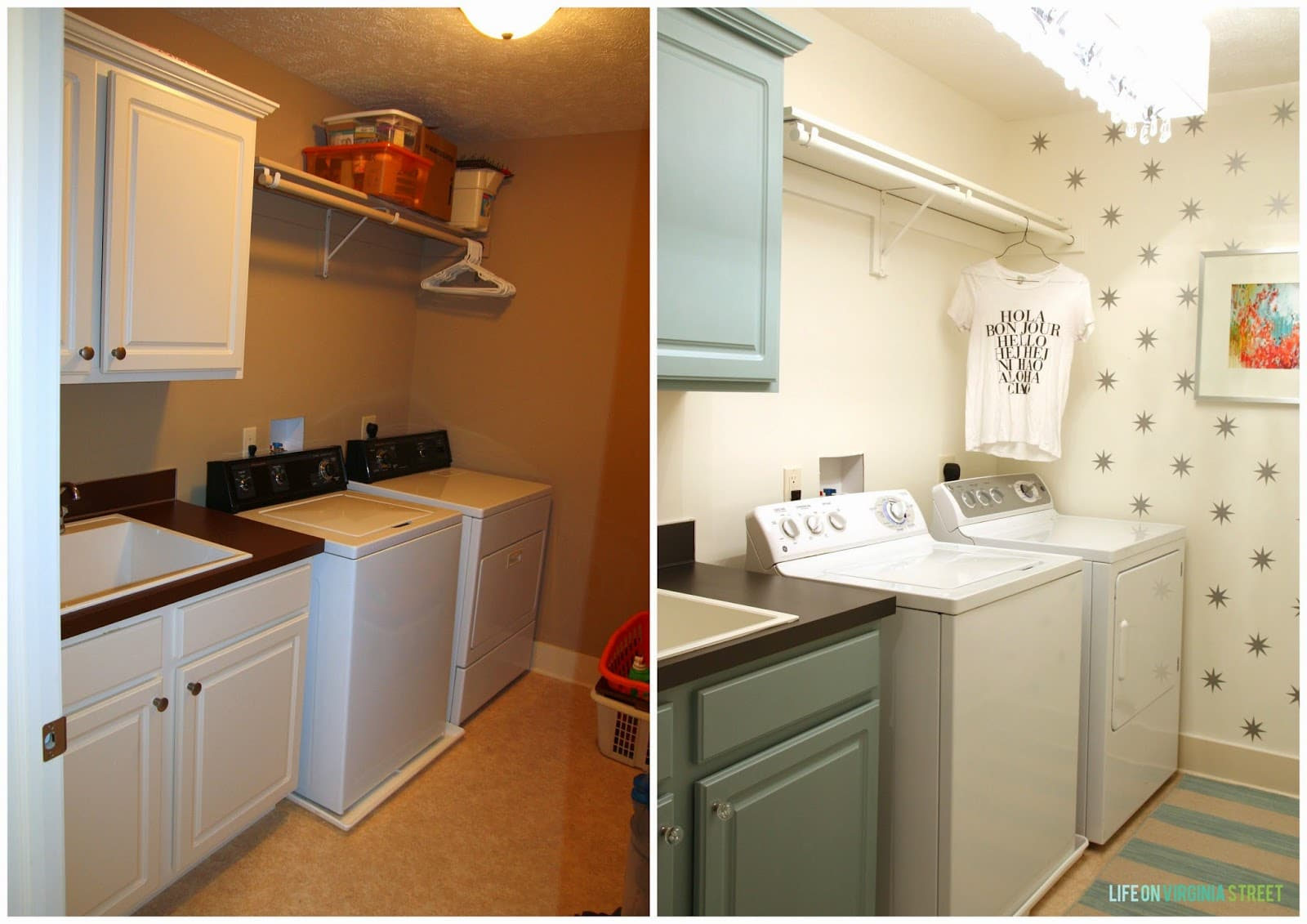 A Year of Change: Laundry Room Reveal - Life On Virginia Street