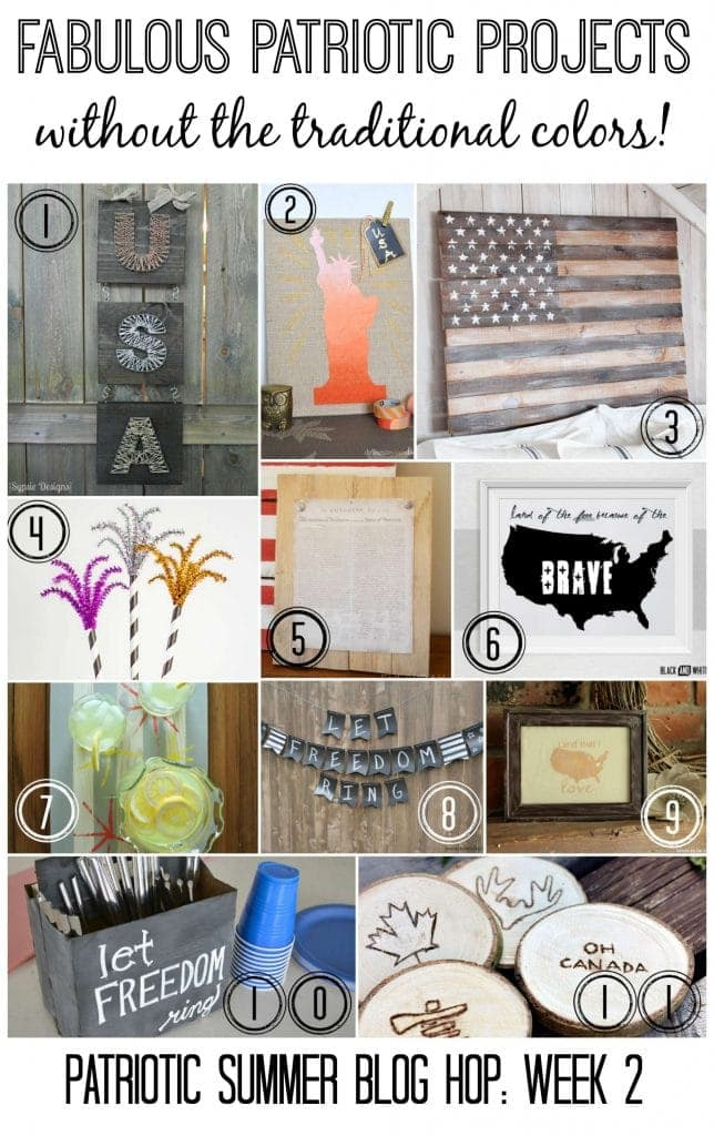 Patriotic Projects – Without The Traditional Colors!
