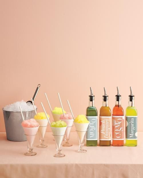 {via - My preference for dessert? A spike snowcone station. Bad. Ass}