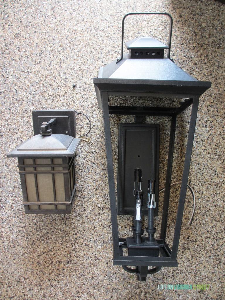 garage light comparison