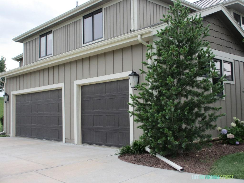 garage lights side