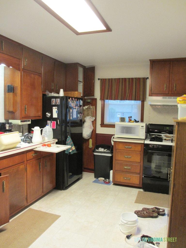 iowa kitchen before