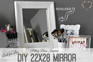 Pottery Barn Inspired DIY 22x28 Mirror