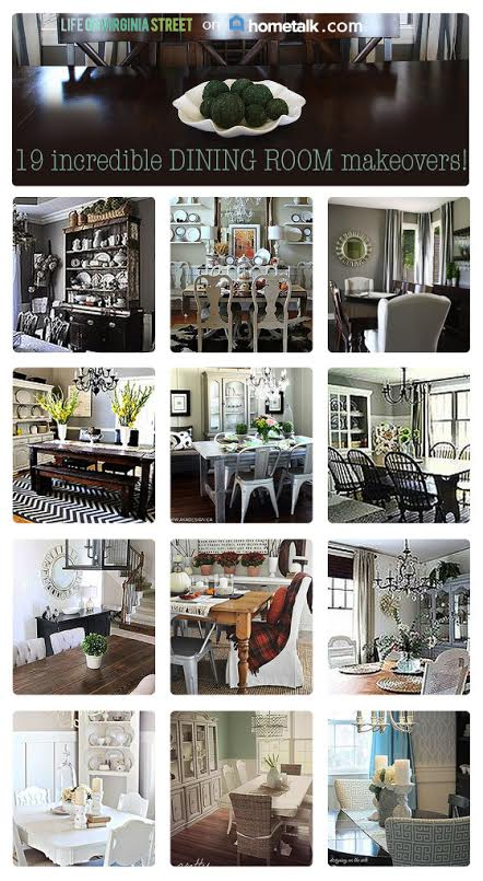 dining room makeovers
