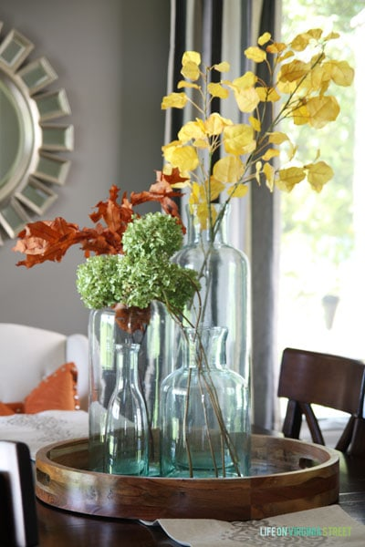 Fall Home Tour - Life On Virginia Street - Dining Room details