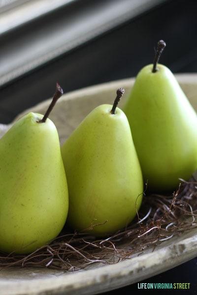 Fall Home Tour - Life On Virginia Street - Pears