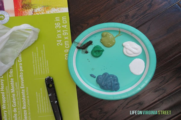 Year of Change DIY Art supplies
