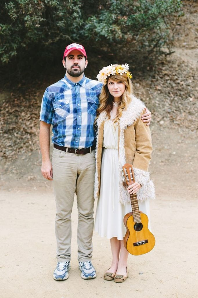 Forrest Gump and Jenny couples costume