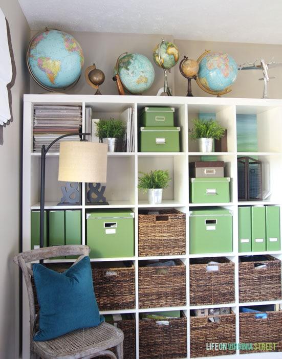 Organization Guest Bedroom