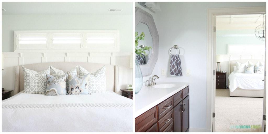 Organization Master Bed and Bath