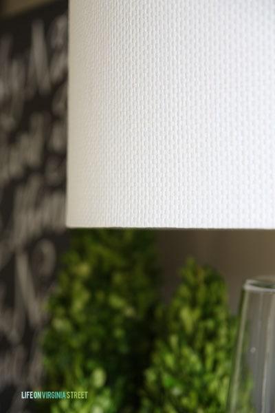 Boda Table Lamp Shade Texture