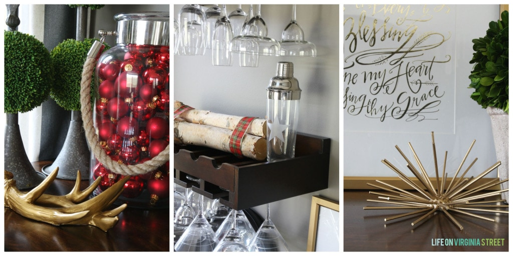 Christmas 2014 Home Tour - Life On Virginia Street - Dining Room Details