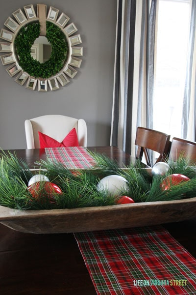 Christmas 2014 Home Tour - Life On Virginia Street - Dining Room Table