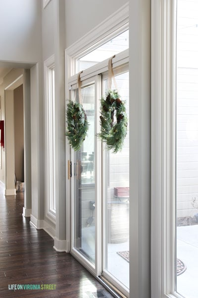 Christmas 2014 Home Tour - Life On Virginia Street - Entryway Hallway