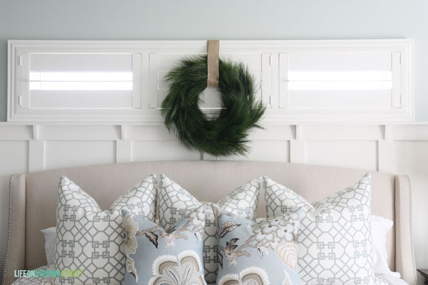Christmas 2014 Home Tour - Life On Virginia Street - Master Bedroom