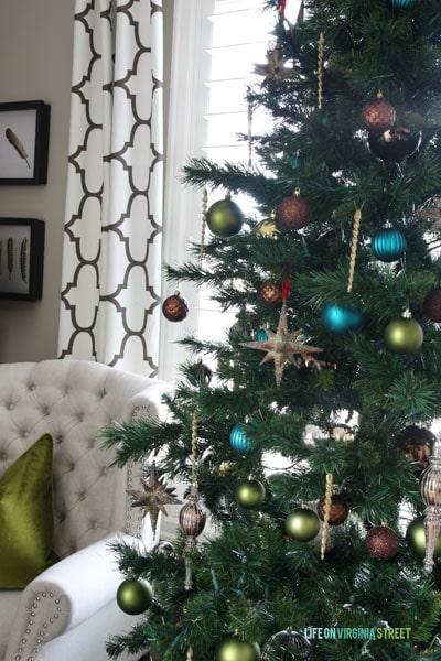 Christmas 2014 Home Tour - Life On Virginia Street - Office Christmas Tree