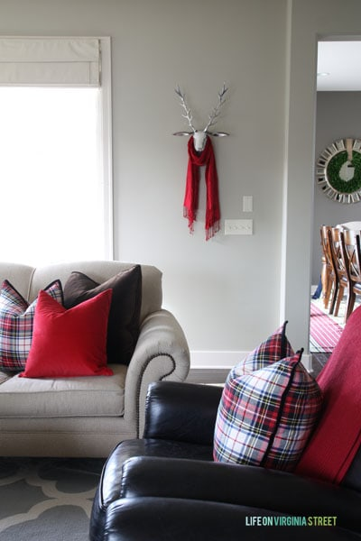 Christmas Home Tour 2014 Living Room and Dining Room
